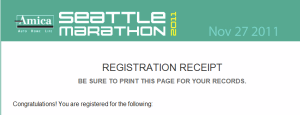 Seattle Marathon Registration