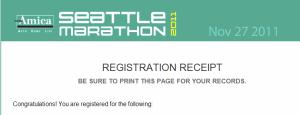Seattle Marathon Registration